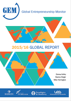GEM 2015 global report cover