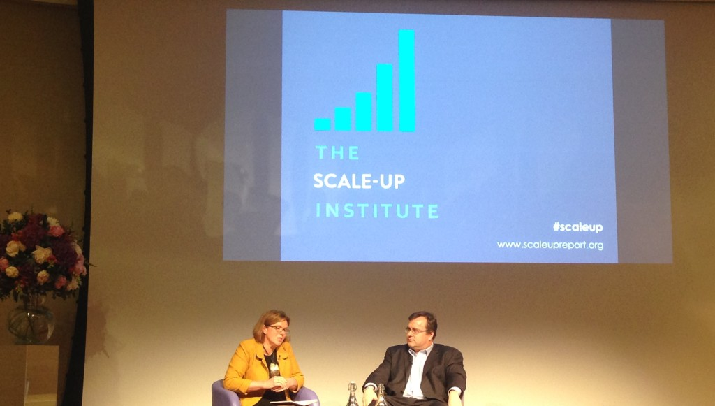 Sherry Coutu Reid Hoffman Scale-up Institute inaugural lecture 2015