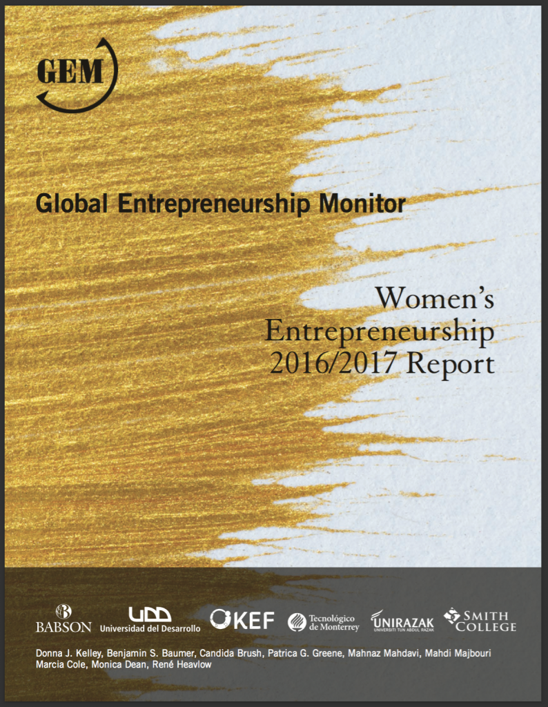 GEM 2016/17 Women's Entrepreneurship