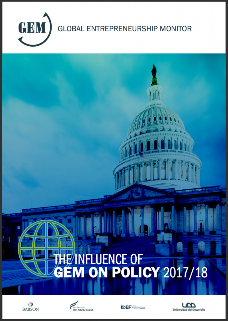 GEM 2017/18 The Influence of GEM on Policy